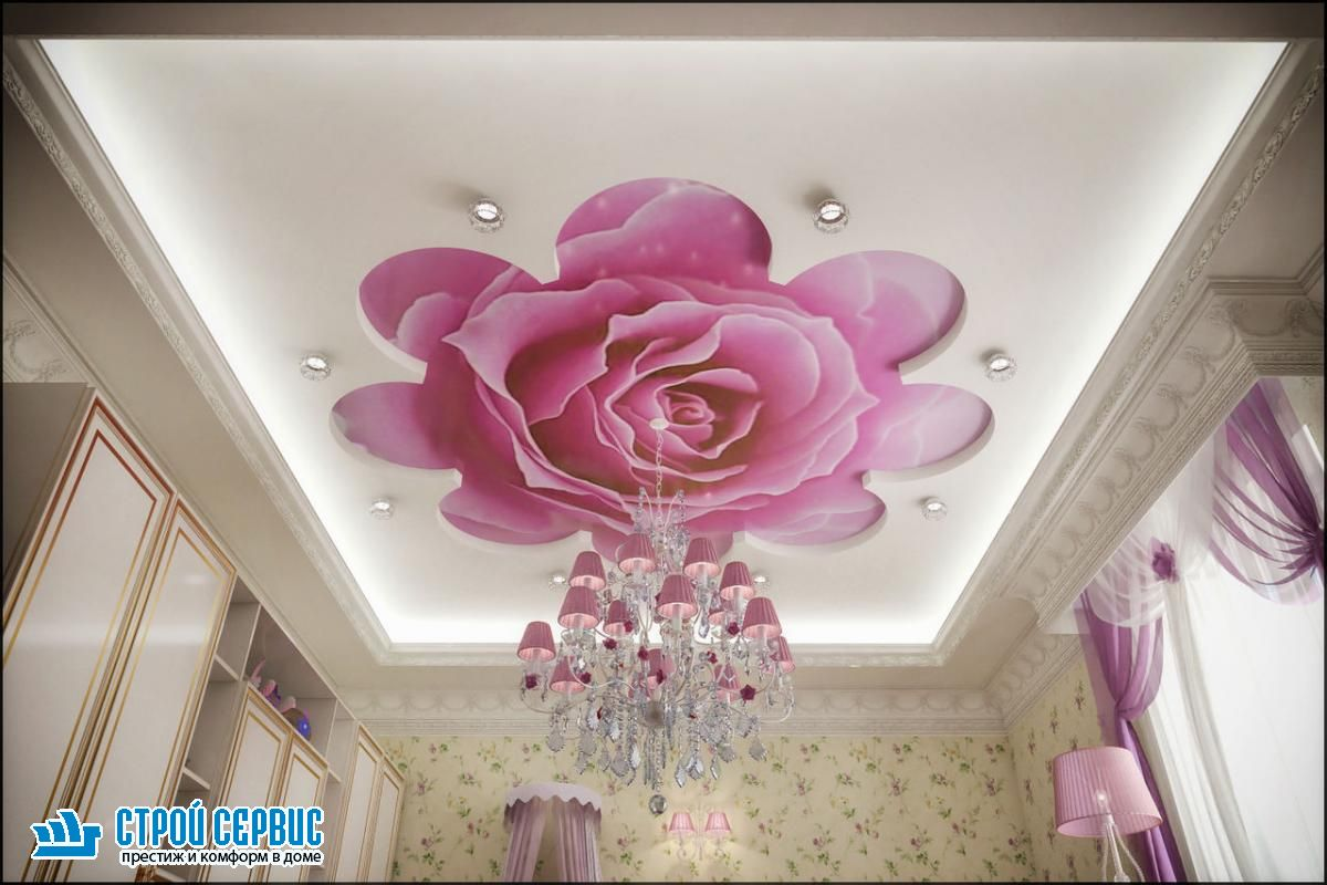 натяжные потолки расцветки с рисунком фото интервью неоднократно давала